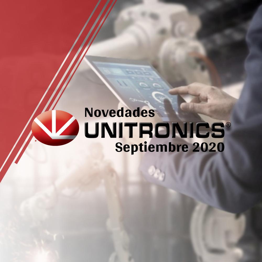 Novedades Unitronics - Septiembre 2020