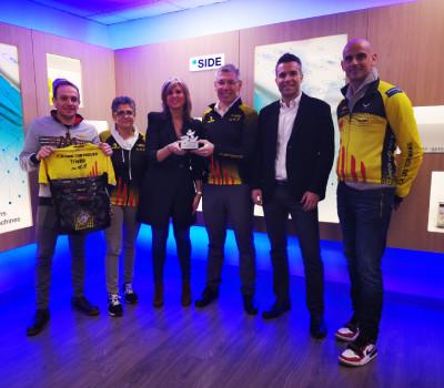 SIDE premiada com a millor sponsor esportiu de La Garriga